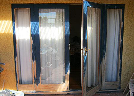 How To Retrofit Double Glazing On Wooden French Doors