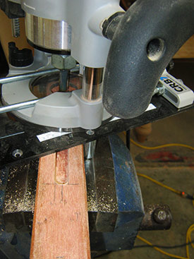 MPower CRB7 cutting mortises