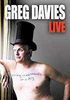 Greg Davies: Firing Cheeseballs at a Dog poster