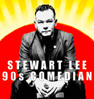 Stewart Lee: 90s Comedian poster