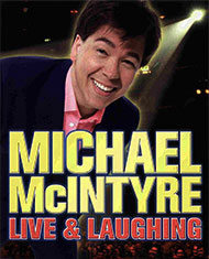 Michael McIntyre: Live & Laughing DVD