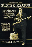 Neighbors poster Buster Keaton