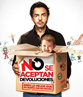 Instructions Not Included No se aceptan devoluciones poster