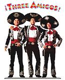 Three Amigos DVD