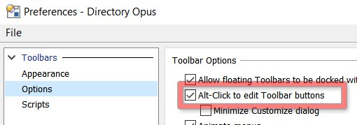 Opus Alt Click preference