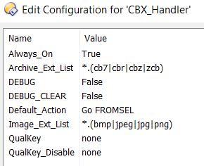 CBX handler config