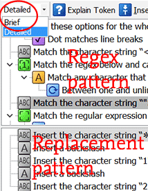 RegexBuddy explains a regular expression